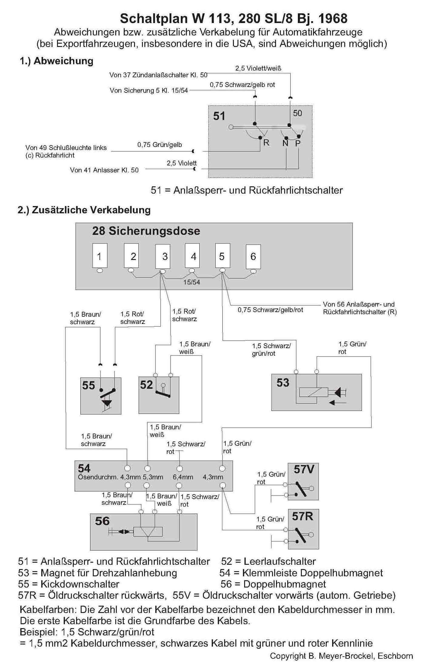 Mercedes Pagoda Wiring Diagram : Mercedes sl wiring diagram