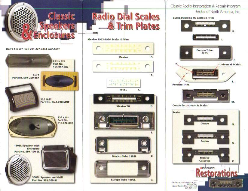 Old Becker Radios