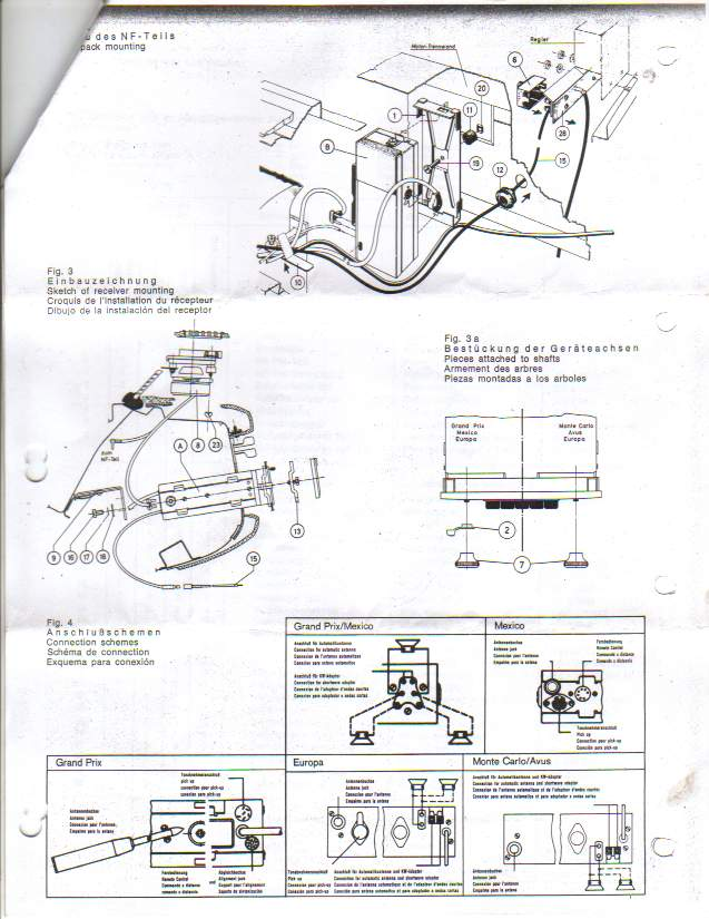 pagoda sl group technical manual    electrical    radio