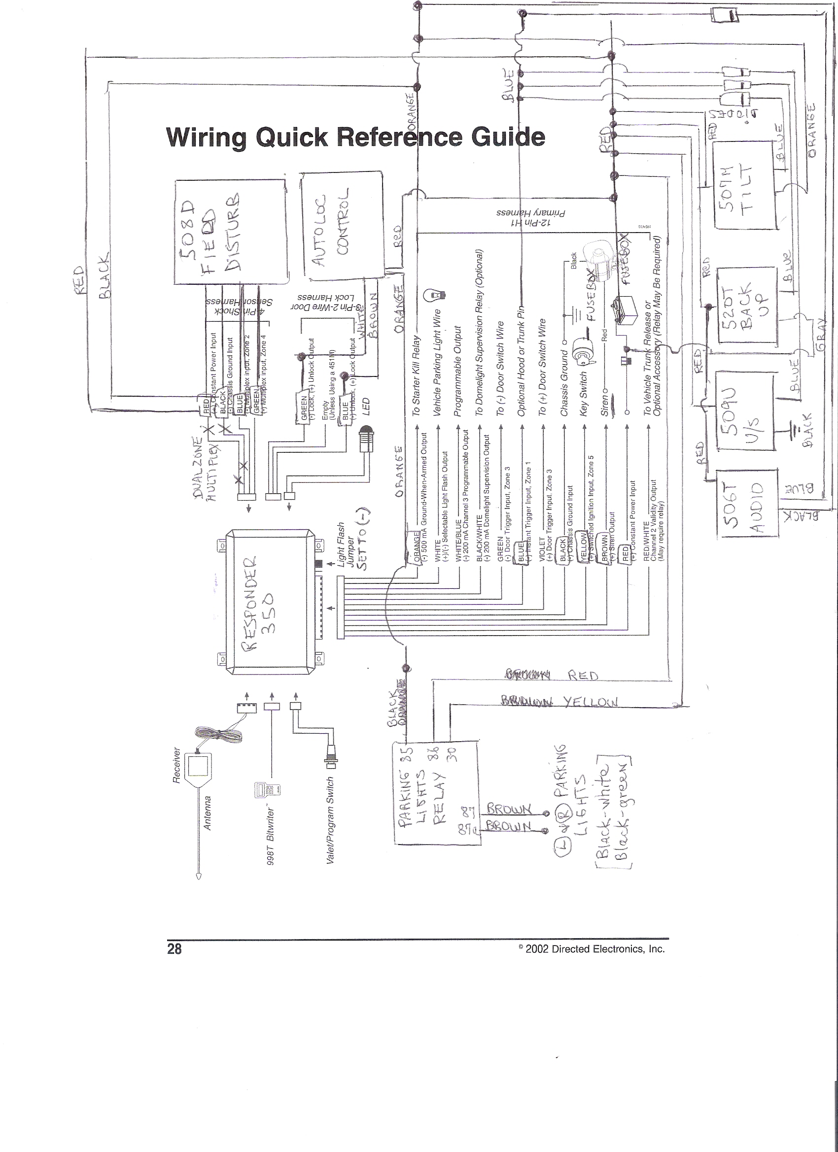 pagoda sl group technical manual accessories Autoloc Wiring Diagram Autoloc Wiring Diagram #6 wiring diagram for autoloc kl1800