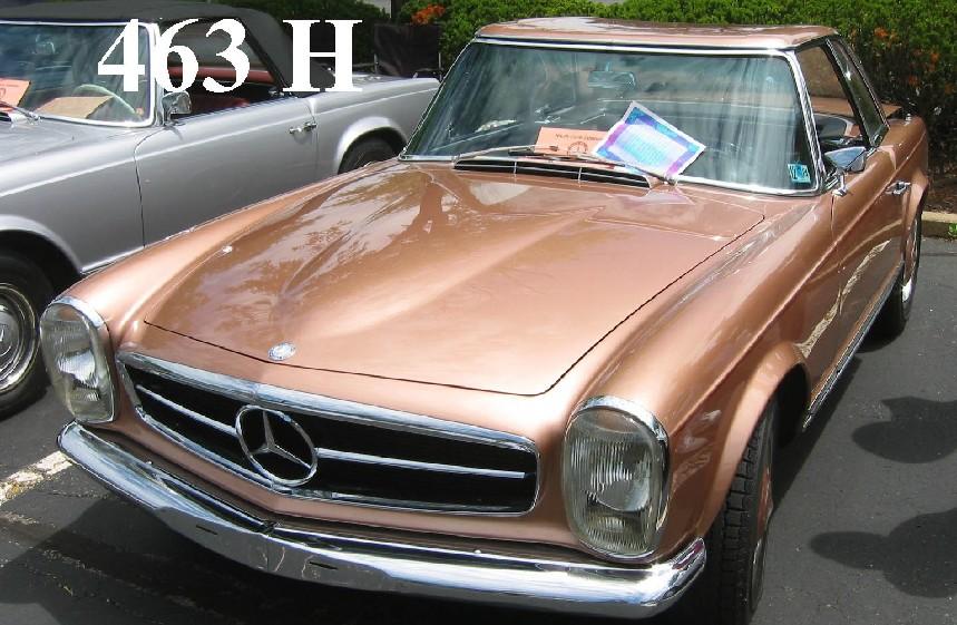 Car Paint Colour Codes >> Pagoda SL Group Technical Manual :: DataCard / PaintCodes