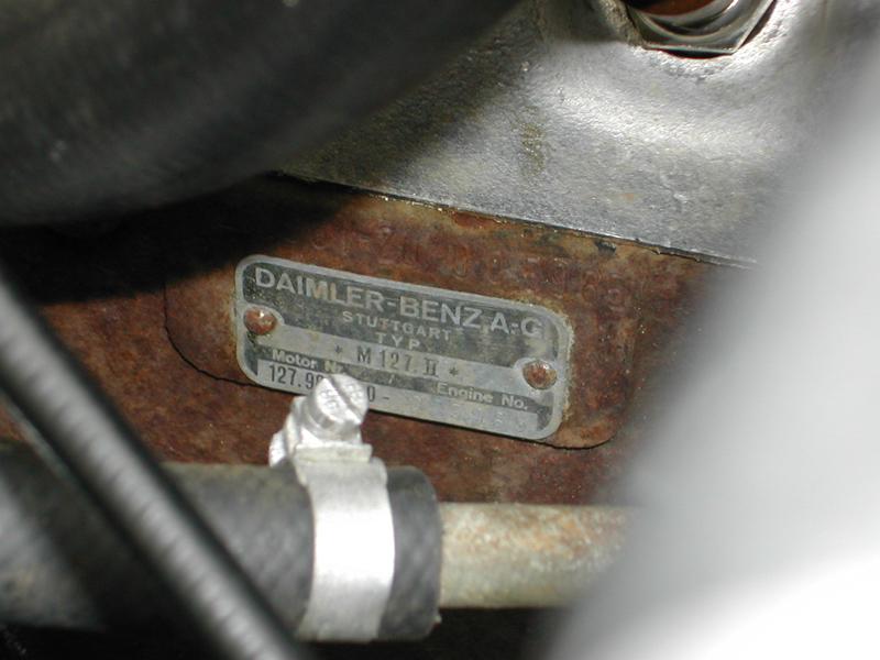 1965 230SL Pagoda engine number - Mercedes-Benz Forum