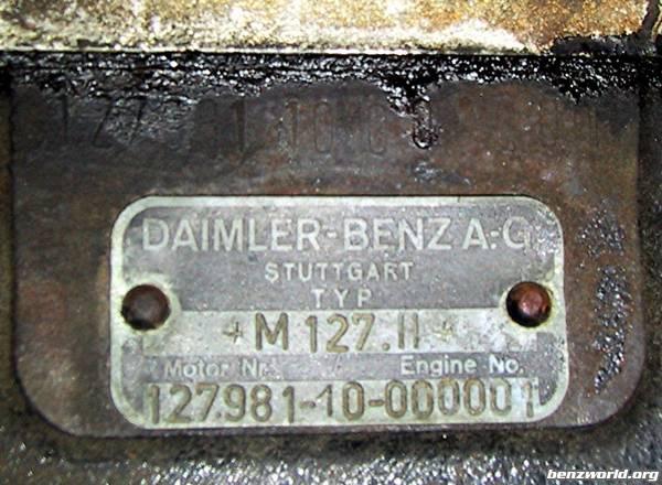 Pagoda Sl Group Technical Manual Datacard Enginenumber