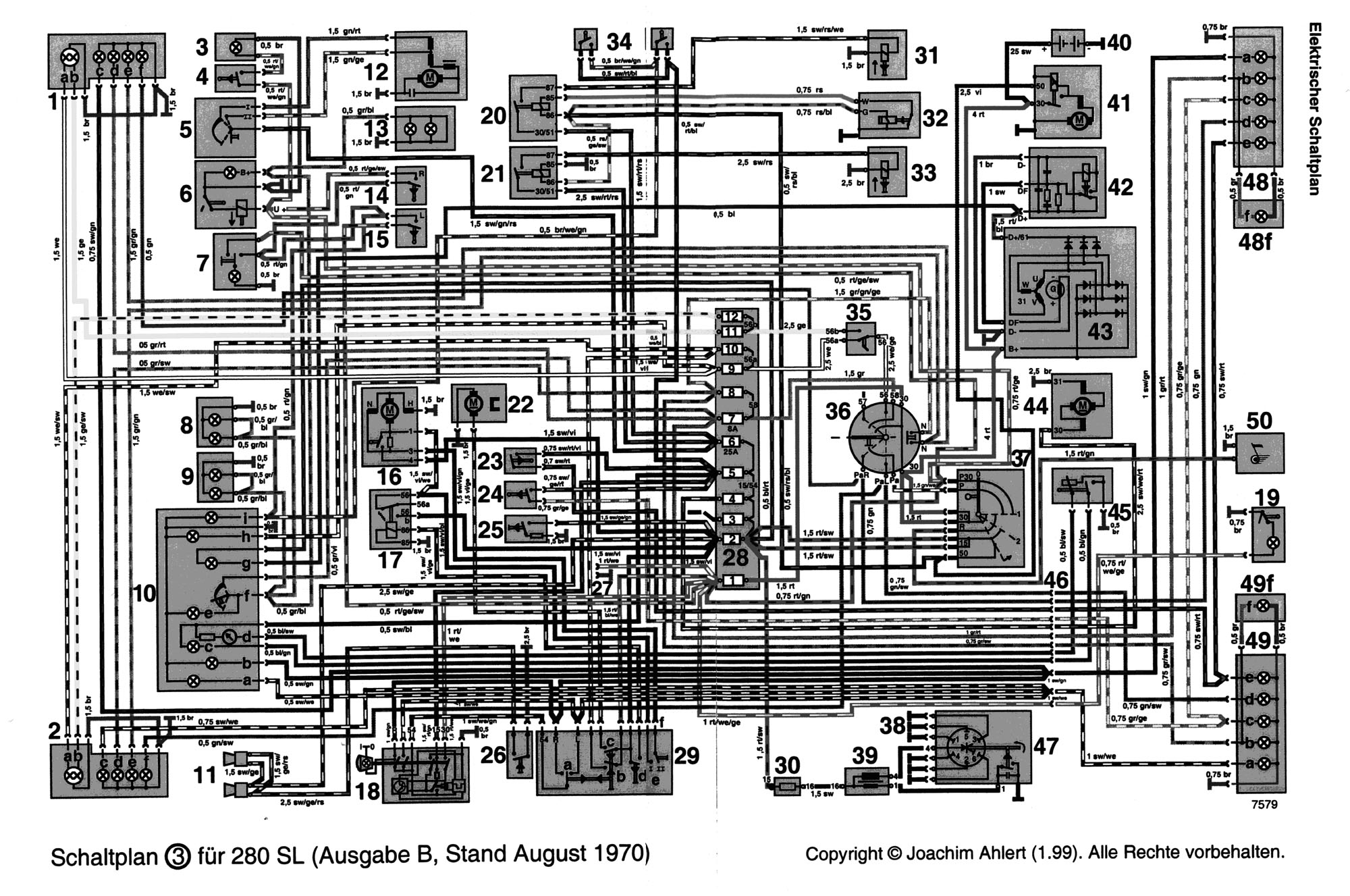 Unidentified 4th Relay '69 Sl 2003 Mercedes C230 Stereo Wiring Diagram  Mercedes 230sl Wiring Diagram