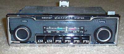 BeckEur2St pagoda sl group technical manual electrical radio Becker Car Stereo at virtualis.co