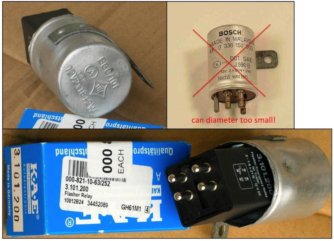 Pagoda SL Group Technical Manual Electrical FlasherRelay