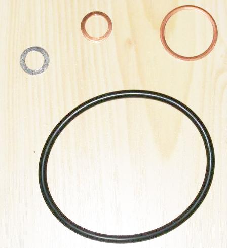 (W113): Informações sobre os motores Filterseals