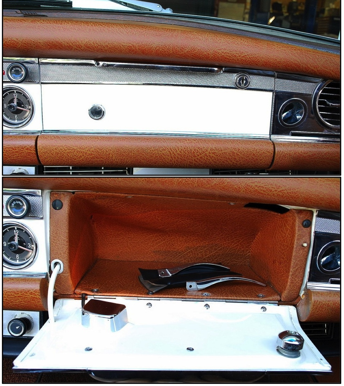 Pagoda Sl Group Technical Manual Interior Glovebox